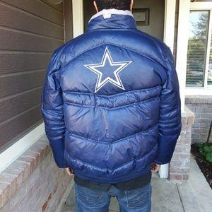 Dallas Cowbys NFL Onfield Reebok Jacket Large Men